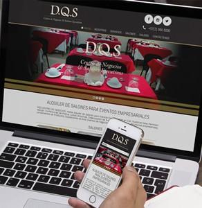 Página web Centro de Negocios DQS
