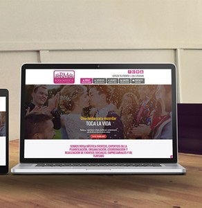 Página Web Rosa Mística Eventos