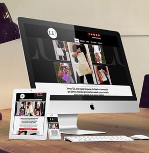 Sitio web Lu Bolsos en Cuero