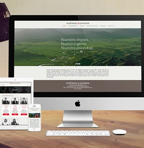 Sitio web Hurtado & Gandini Abogados